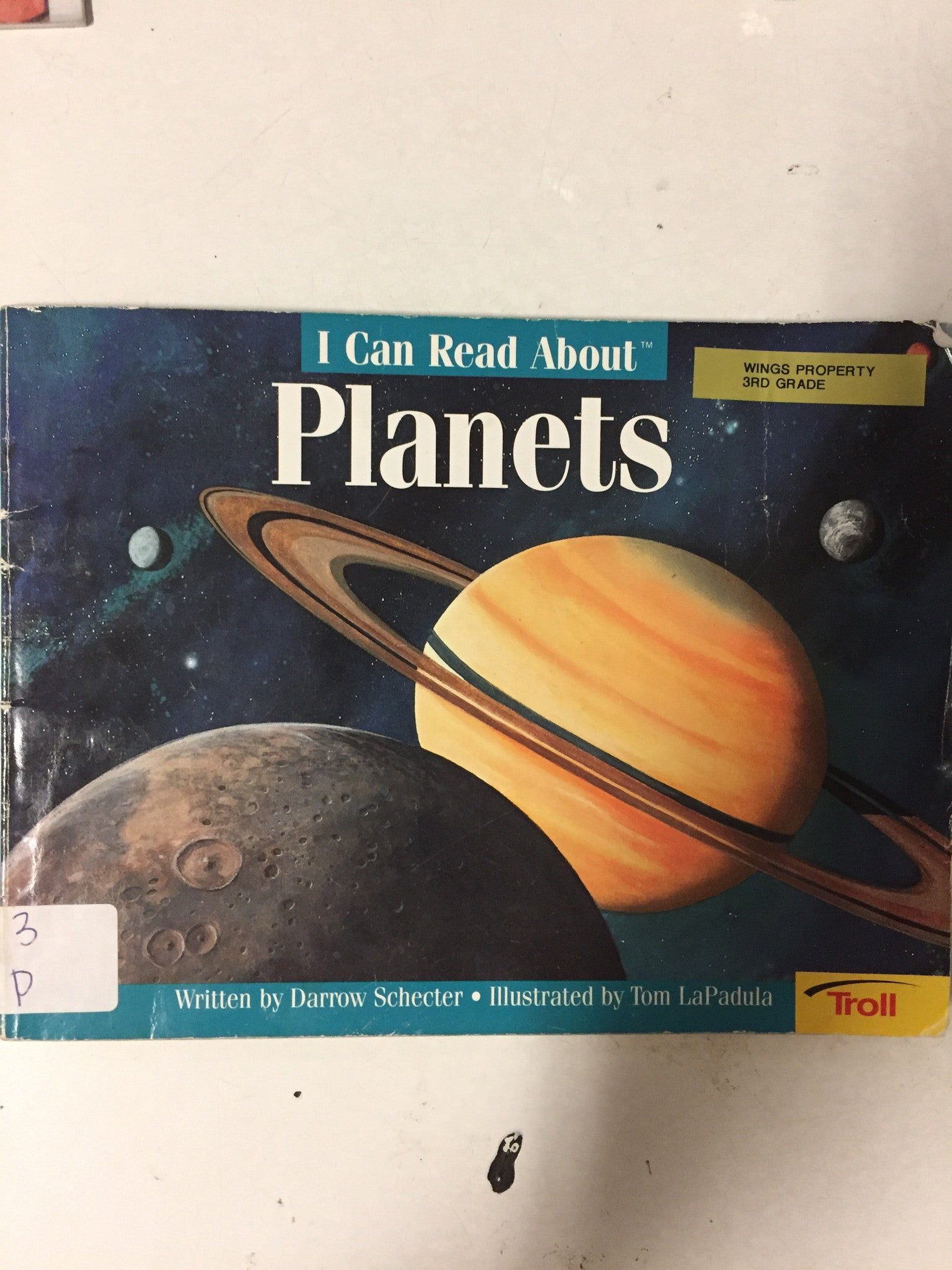 I Can Read About Planets - Slickcatbooks