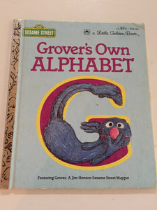 Grover's Own Alphabet - Slickcatbooks