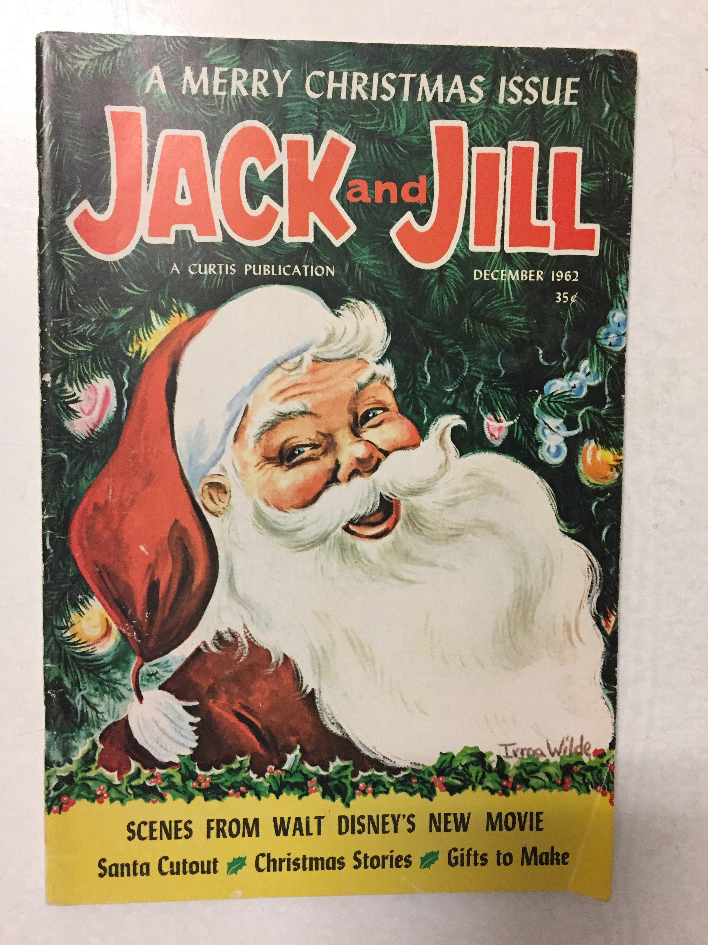 Jack and Jill Magazine A Merry Christmas Issue December 1962 - Slickcatbooks