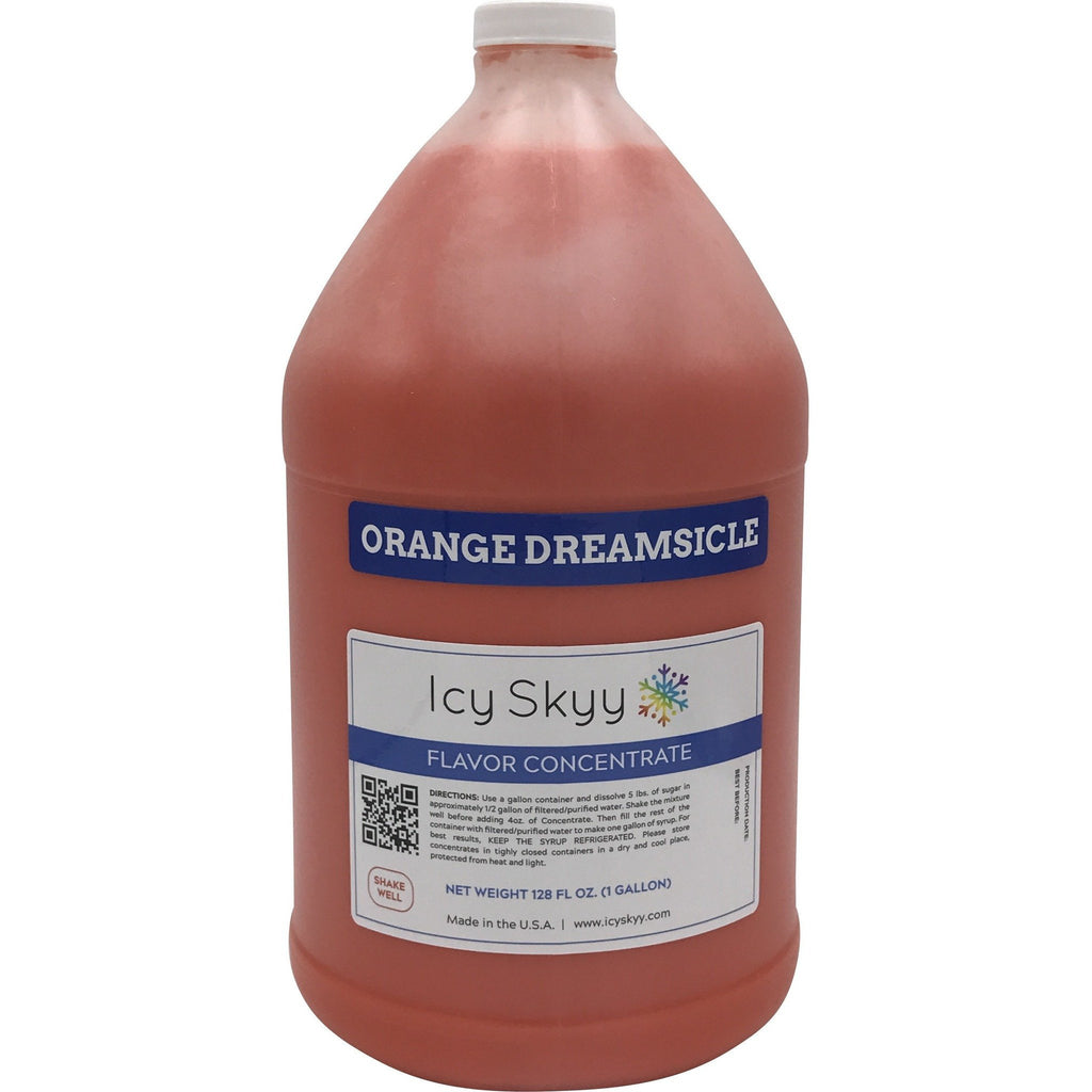 Shaved Ice or Snow Cone Flavors - Concentrate 128 Oz. (Gallon) - IcySkyy