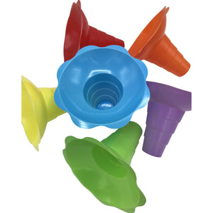 Shave Ice Flower Cups - Large (12 Oz.) - IcySkyy
