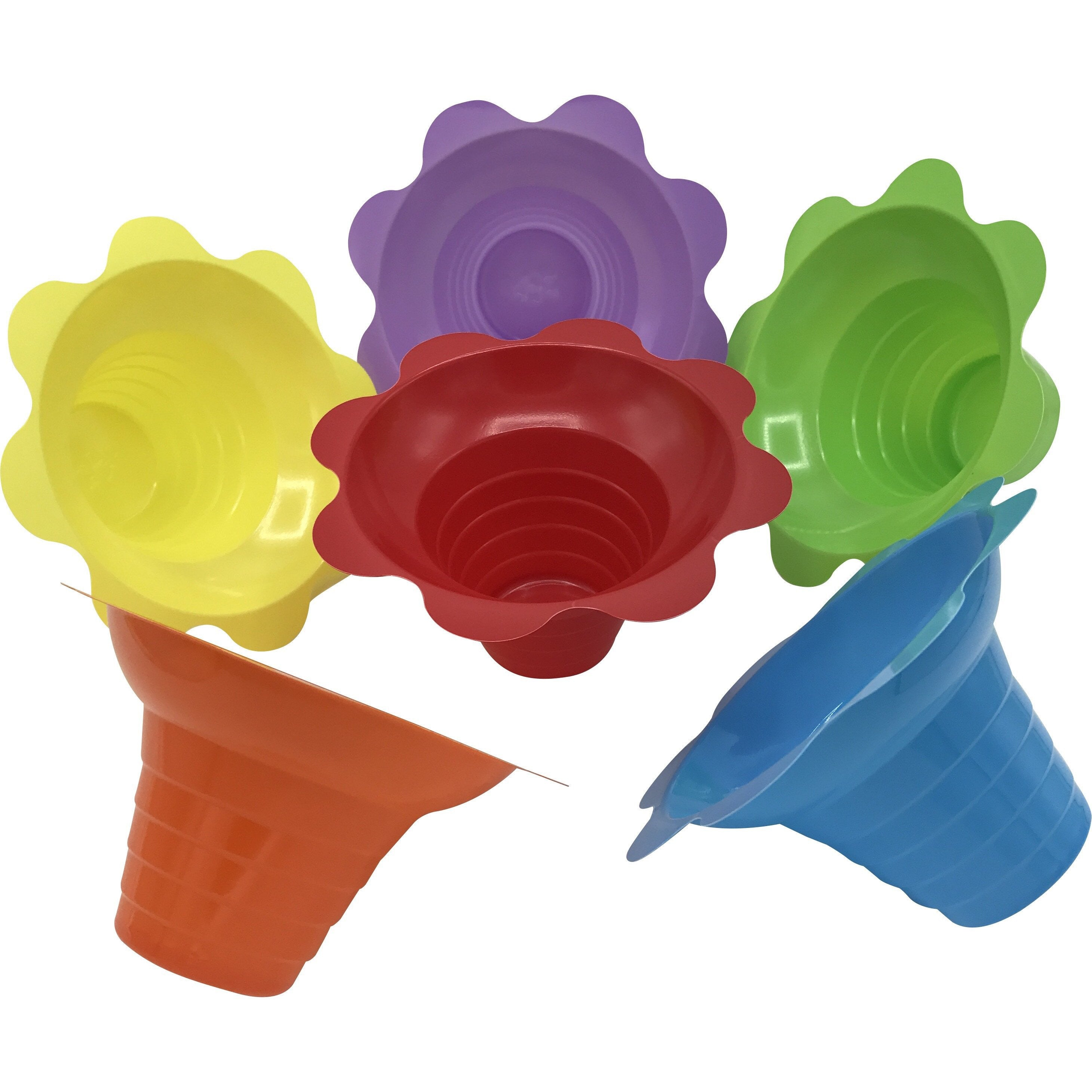 Shave Ice Flower Cups - Small (4 Oz.) - IcySkyy
