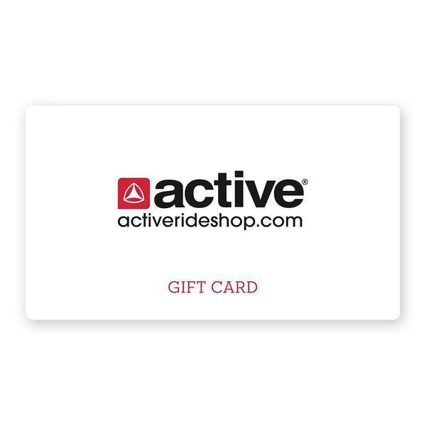 Active Ride Shop Gift Card $25 $50 $75 $100 the perfect gift