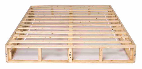 wooden box spring