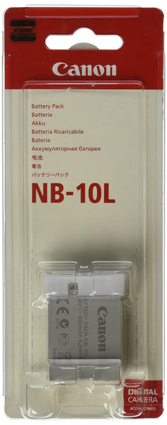 Canon Battery Pack NB-10L (Rechargeable Lithium-Ion Battery)