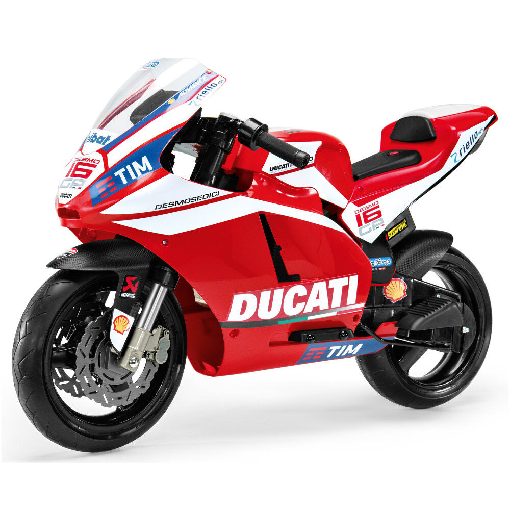 red ducati kids ride on 12v motorbike