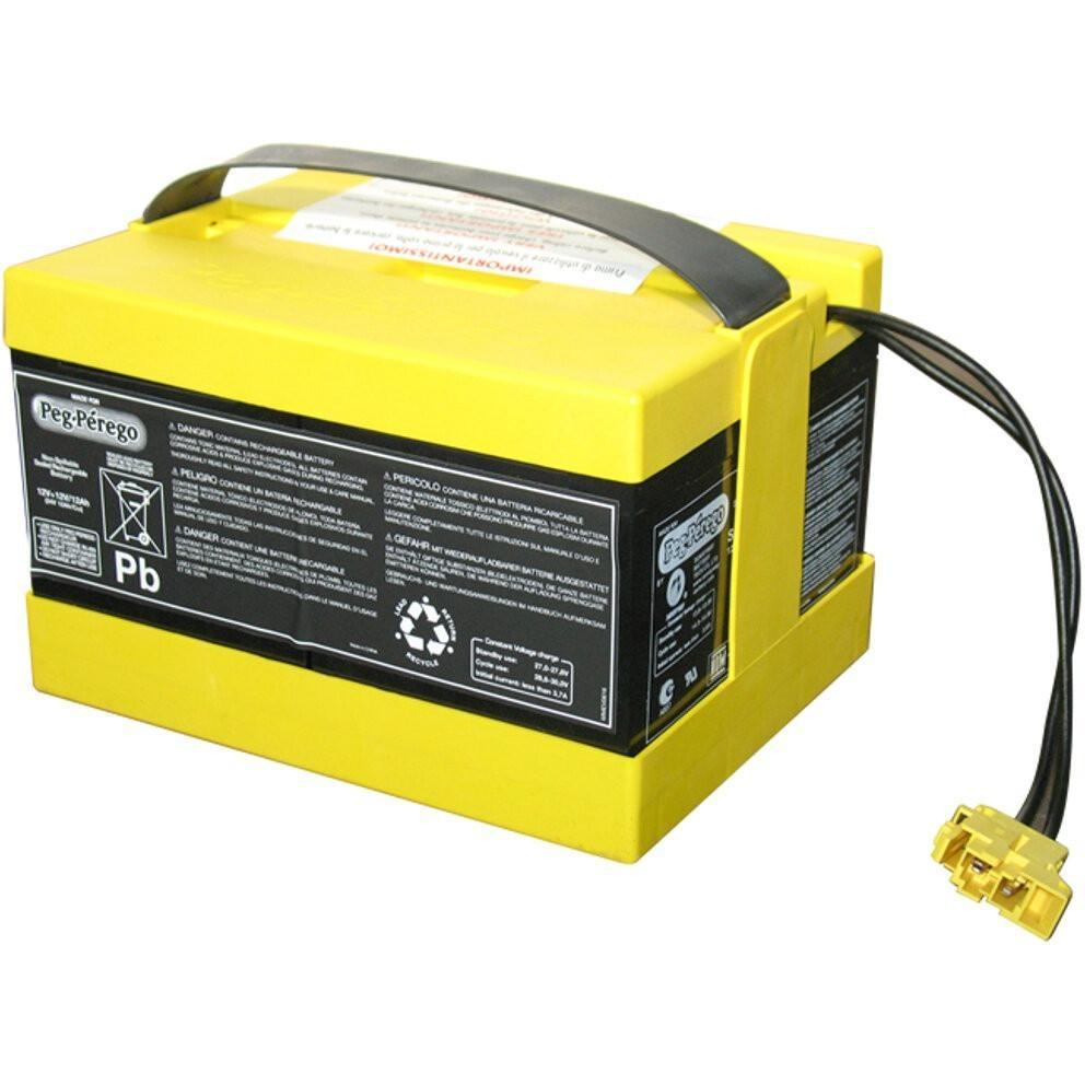 peg perego yellow battery
