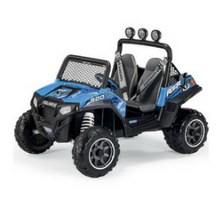 ATV electric kids car polaris RZR 900 in blue