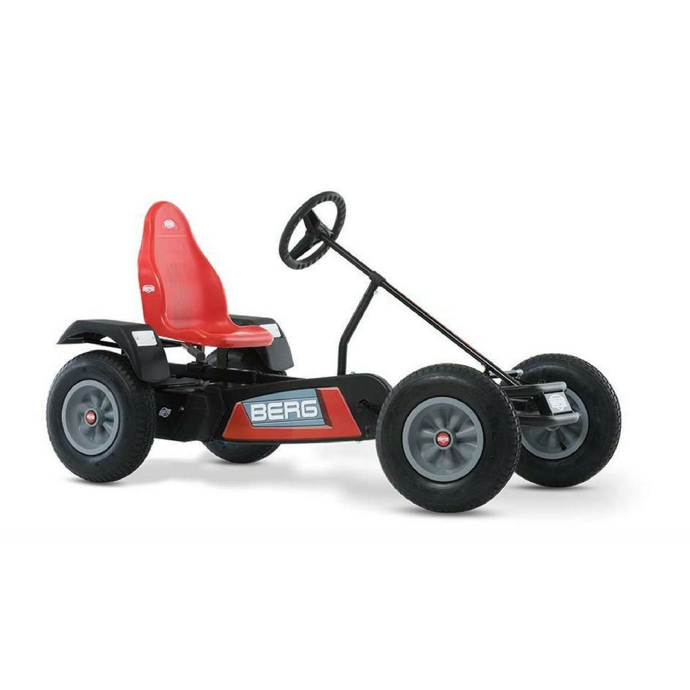Berg red ride on pedal kart for kids