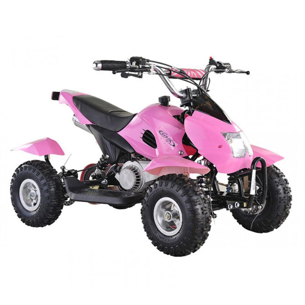 Pink GMX kids ride on atv