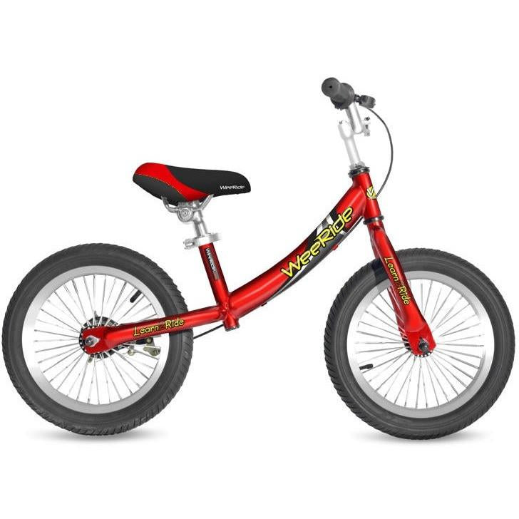 red wee ride kids balance bike