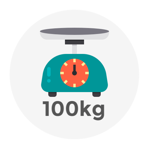 Weight Up to 100kg