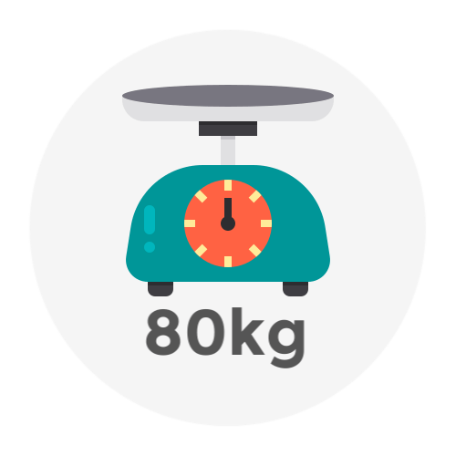 Weight Up to 80kg