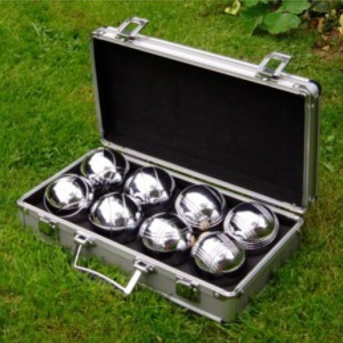 Boules Outdoor Lawn Game in Metal Case - Kids Car Sales