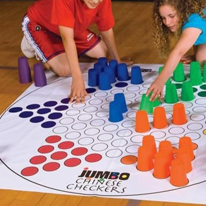 Giant Chinese Checkers Game (6 Team) - Kids Car Sales