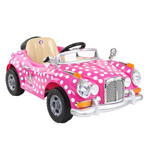 Disney Minnie Mouse 6v Electric Kids Ride On Car - Kids Car Sales