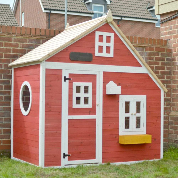 The Crooked Mansion Wooden Kids Cubby House