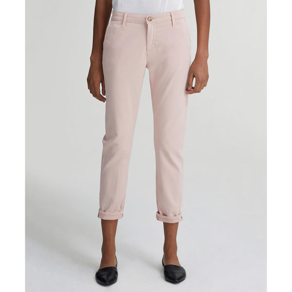 Caden Tailored Trouser Peaked Pink AG Jeans, - Stripes Fashion and Beauty