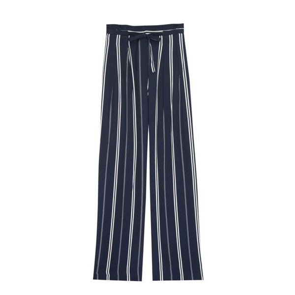Rooney Trousers Admiral Stripe Rails, - Stripes Fashion and Beauty