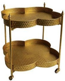Gold Clover Tray Table