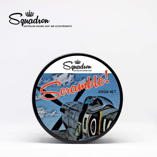 Scramble! Shave Soap