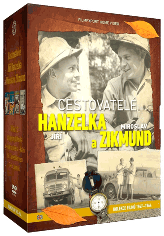 Travelers Hanzelka and Zikmund - Collector Collection 9x DVD
