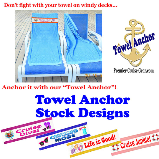 Cruise Towel Anchors