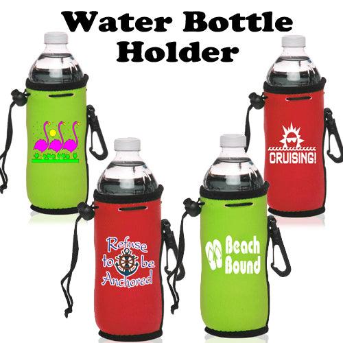Cruise and Beach Theme Water Bottle Holder