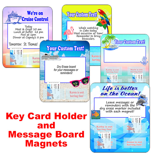 Cruise Key Card Holder Magnet