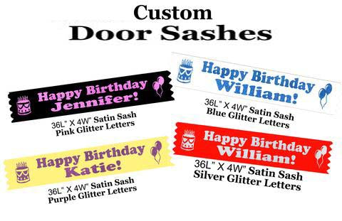 Cruise Ship Door Sashes