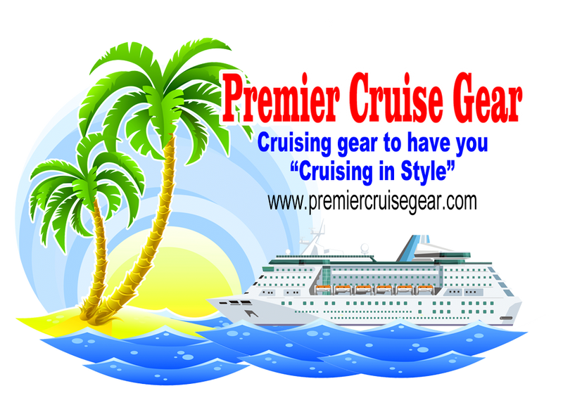 Cruise merchandise from Premier Cruise Gear.  Cruise in style with our cruising accessories.