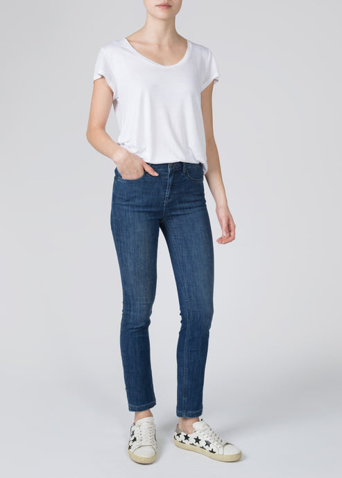 Mabel High Top Anke Slim Jeans - Moonlight