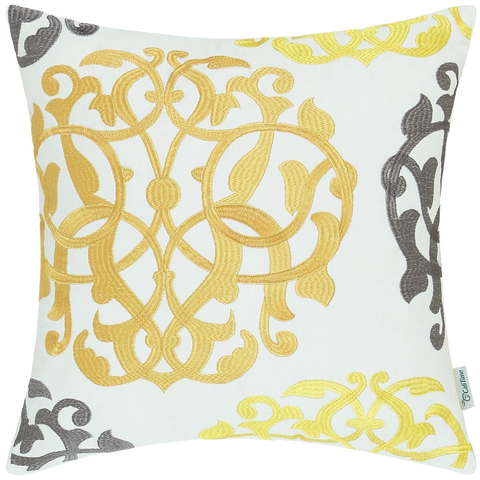 CaliTime Home Decor Cushion Covers Pillows Shell