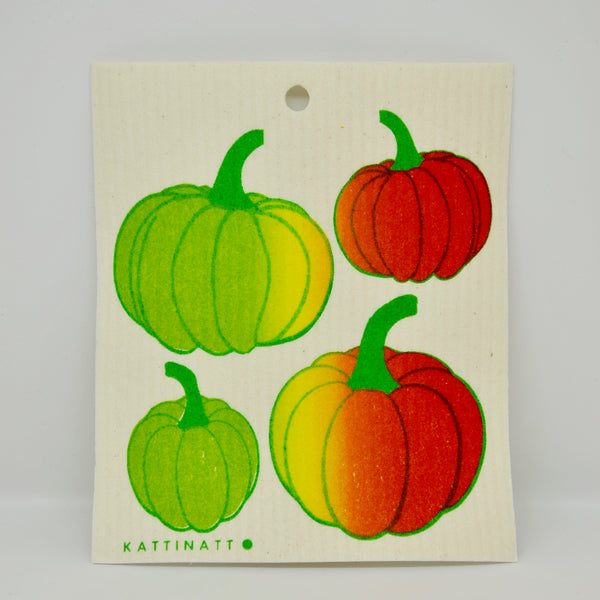 Pumpkins Dishcloth
