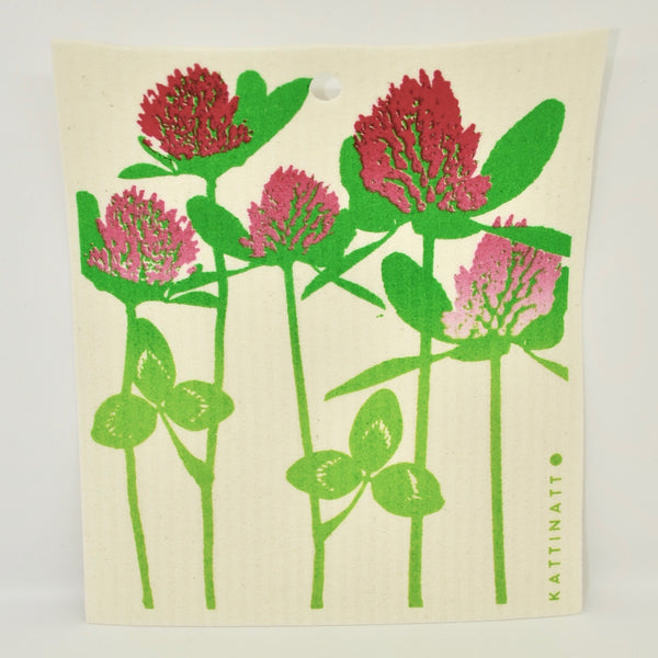 Red Clover Dishcloth