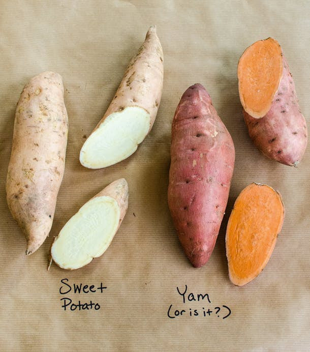 Yams or Sweet Potatos?