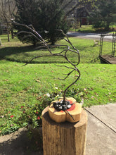 Blacksmith Metal Art - www.mittysmetalart.com - Bonsai Tree, Garden Sculpture, Jewelry Display Stand