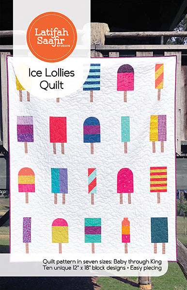 Ice Lollies Quilt - PDF