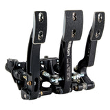 Tilton 800-Series 3-pedal Floor Mount Pedal Assembly