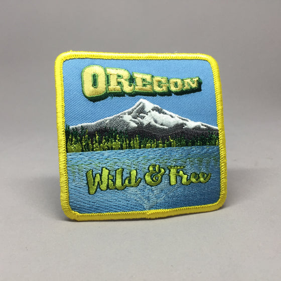 Oregon Wild and Free Patch