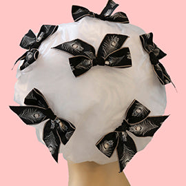 Feathers Shower Cap