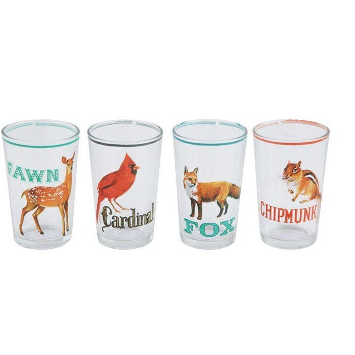 Animal Drinking Glasses