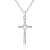 CZ Cross Necklace Christian Religious Jewelry 2