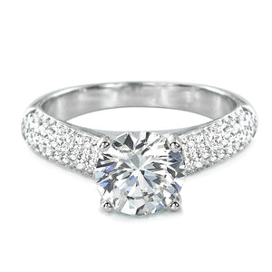 Luxurious Sterling Silver CZ Engagement Ring Wholesale Lots