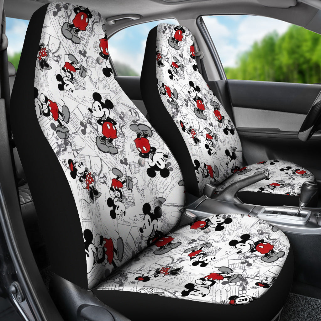Mickey Mouse Car Seat Cover Moovie Shop