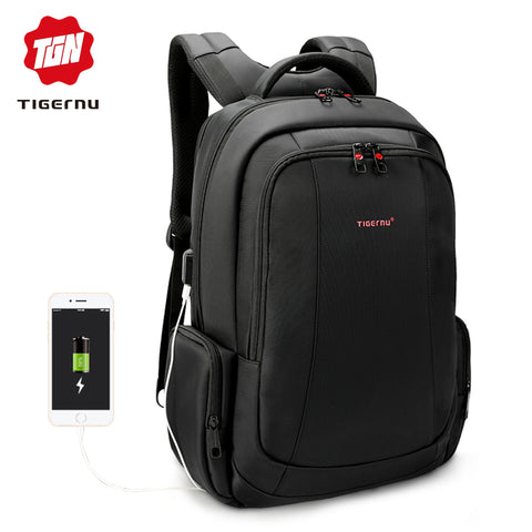 Tigernu Large Capacity Anti-theft Waterproof Laptop Backpack 17 Inch