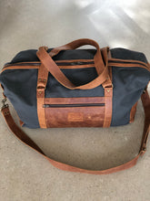Canvas & Leather Overnighter