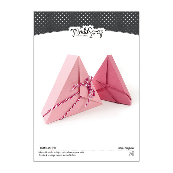 MODASCRAP FUSTELLA - TRIANGLE BOX