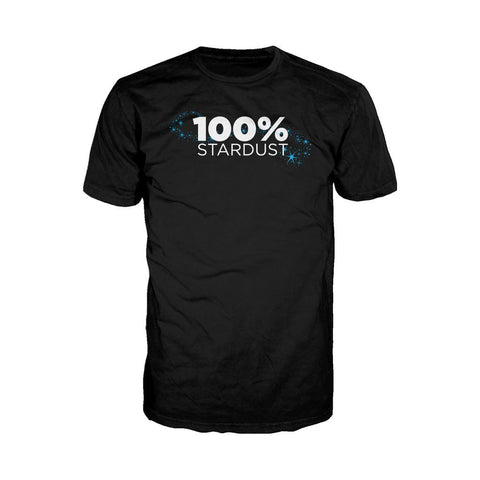 I Love Science 100% Stardust Official Men's T-shirt (Black)