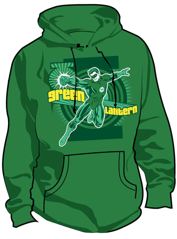 SALE £10 ONLY | DC Green Lantern Fashion First Flight Mens Hoody